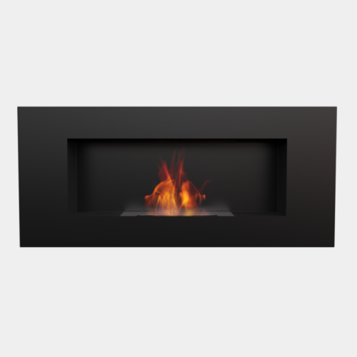 CHIMENEA DE PARED NEGRA LONGITUD 60 CMS 1